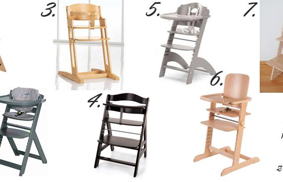 Krzesełka do karmienia rosnące wraz z dzieckiem Przegląd