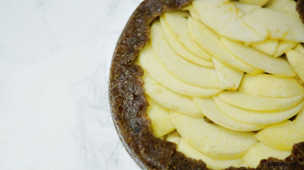9 raw jabłecznik surowe ciasto lifebymada