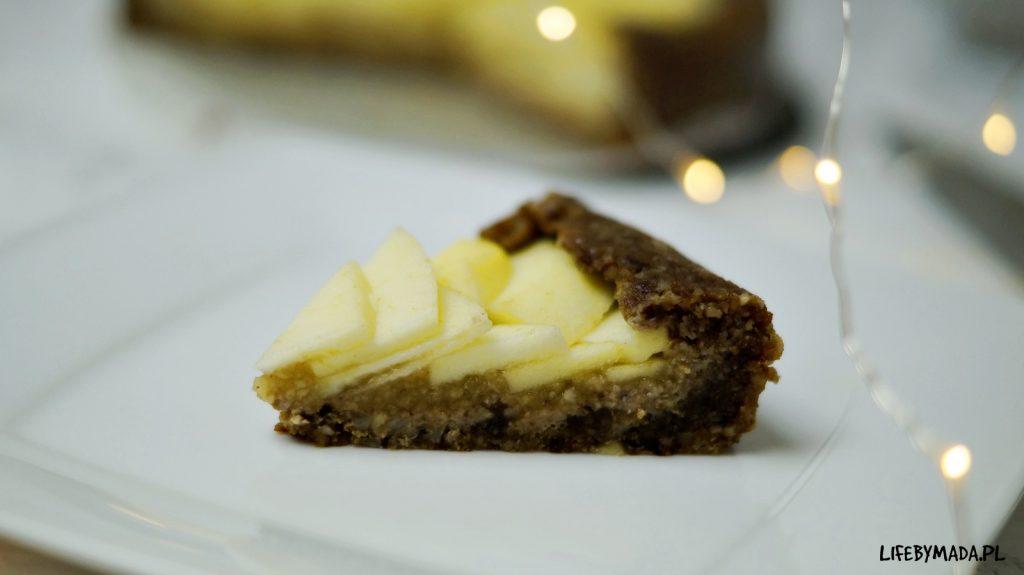 10 raw jabłecznik surowe ciasto lifebymada