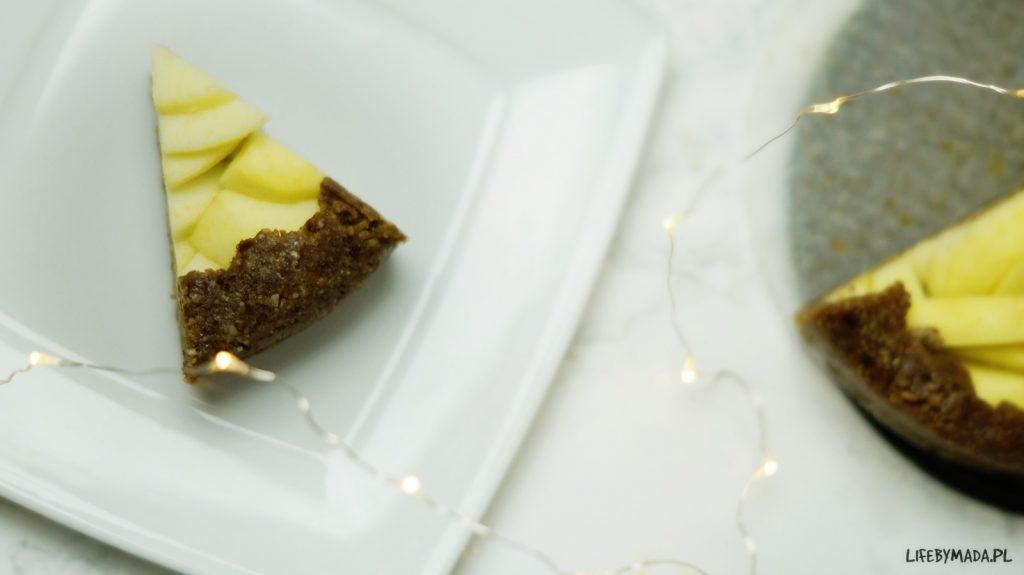 11 raw jabłecznik surowe ciasto lifebymada