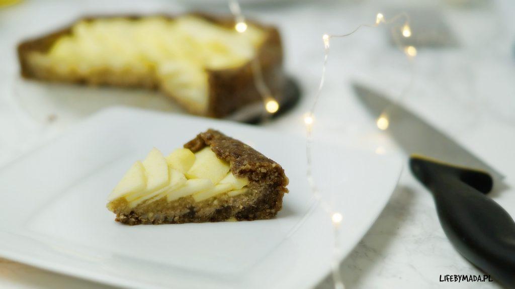 13 raw jabłecznik surowe ciasto lifebymada
